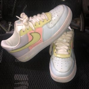 Easter Air Force 1 size 7 in men